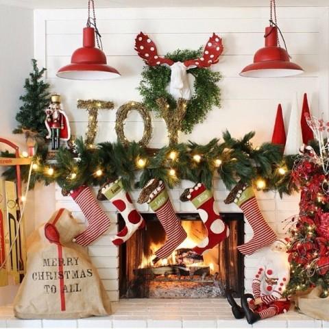 冬に一度はやりたい♭黄金コンビのレッド×グリーンで彩るクリスマスカラーネイル2015