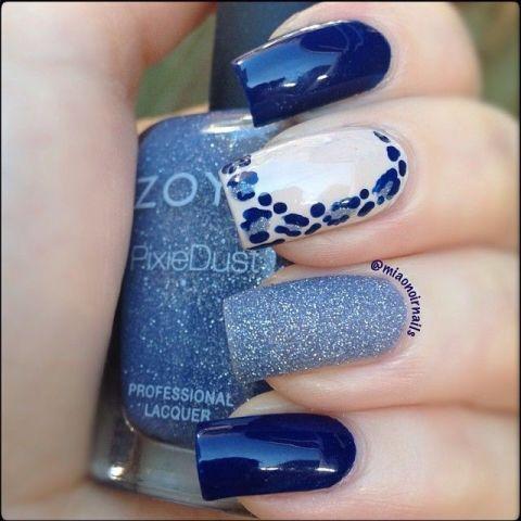 miaonoirnails #nail #nails #nailart | Blue | Pinterest