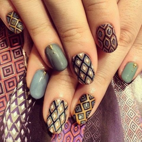 22 Stunning Nail Art Designs 2015 | Best Pic