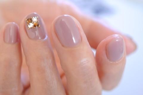 シンプルな秋ネイル | 大阪・羽曳野・東住吉・出張可ネイルサロン ジャルディーノ|nail salon Giardino