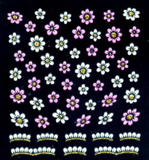 花柄ネイルシール