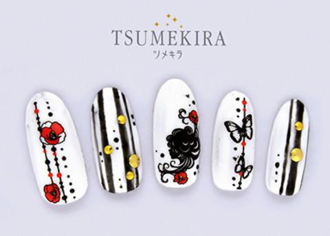 【楽天市場】TSUMEKIRA ツメキラ モダンシルエット NN-SLE-101【ネイルシール】【ネイルアート】:ハルカストア