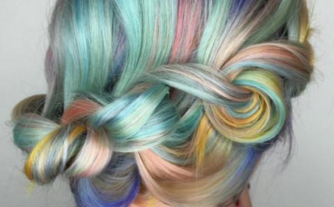 """アメリカで新たなヘアトレンドに?色とりどりの""""マカロンヘアー""""がかわいい♪"""