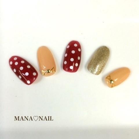 Hirose Manamiさんのミディアム,ショート,ベージュネイル♪[1148661] | ネイルブック