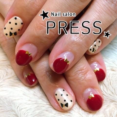 nail_pressさんのソフトジェル,ショート,ベージュネイル♪[1204731] | ネイルブック