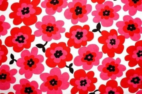 マリメッコのウニッコも花柄♡