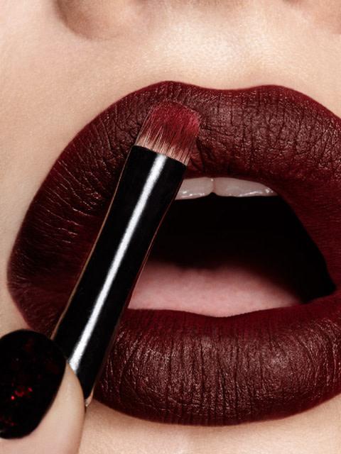 Resultado de imagen de lip brush burgundy