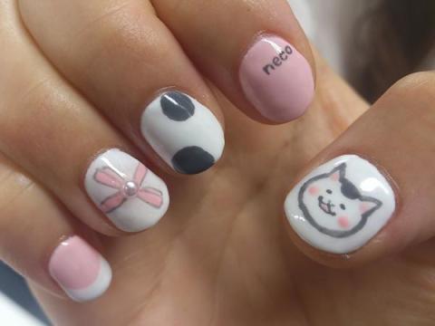 """color'sすみな西山さんはTwitterを使っています: """"猫村さんネイル http://t.co/awSHX6S9"""""""