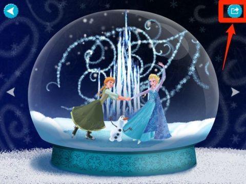 アナと雪の女王 デラックス:  映画のシーンやセリフが流れるデジタルブック! ミニゲームも満載!!  |  AppBank