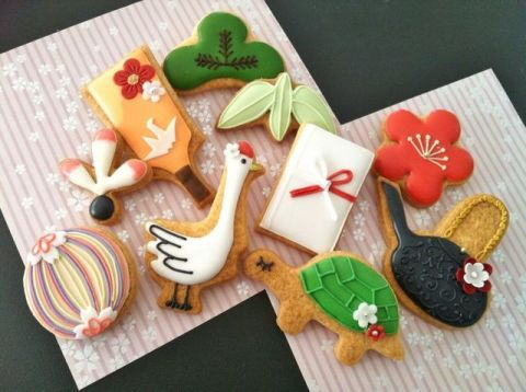 C.bonbon: New Years cookies