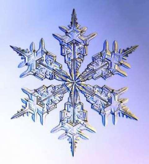 キラキラ可愛い♥雪の結晶ネイルで寒い冬を乗り切ろう☆