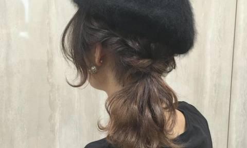 小物に×ヘアアレンジが可愛すぎる♡ヘアバンド・ベレー帽を100倍可愛くするアレンジ集