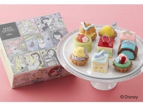 【銀座コージーコーナー】乙女心をくすぐる!ひな祭りには、ラブリーな「ディズニー・プリンセス」のプチガトーを
