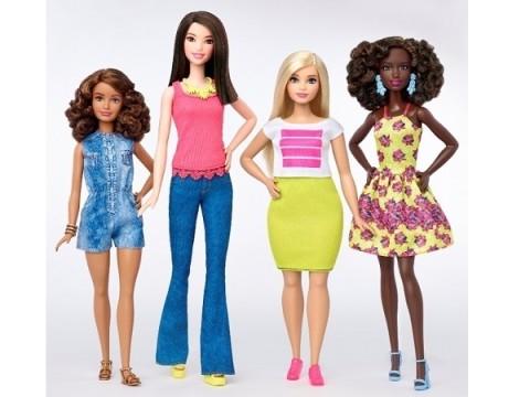 """「小柄」や「曲線美」など3体型が追加!2016年版バービーからのメッセージは""""すべての女性は美しい"""""""
