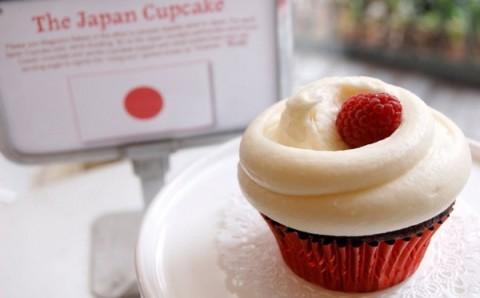 マグノリアベーカリーが被災地復興のための「ジャパンカップケーキ」を今年も発売