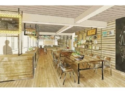 外苑前にライブラリー併設の「GLOCAL CAFE」が誕生!青山に住む・働く人のためのコミュニティ・スペースへ