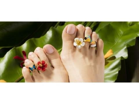 日本唯一「足の指輪」専門ブランドが素足をおしゃれに彩る新作発表