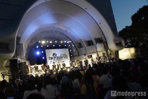 EXILE TRIBE新ユニットTHE RAMPAGE、THE SECONDアリーナツアー参戦をサプライズ発表「新しい風をお届けできれば」