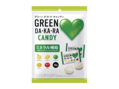 """ロッテ×サントリーのヒット商品「GREEN DA・KA・RA」がキャンディとタブレットに進化し""""たから""""!!"""