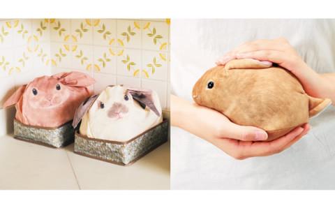 まるでウザギを飼っているみたい!?楽しみながら片付けができるウサギの収納ケースがかわいい♡