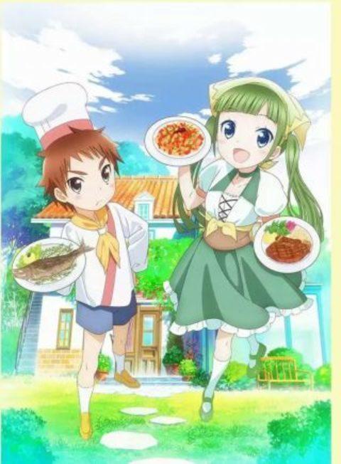 TVアニメ『ピアシェ~私のイタリアン~』2017年1月より放送。メインキャストも発表