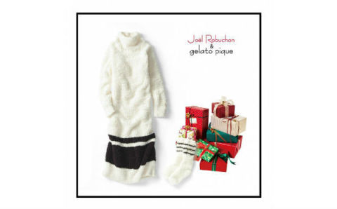 完売必至!ジョエルロブションとジェラートピケがコラボしたクリスマスコレクションが素敵♡