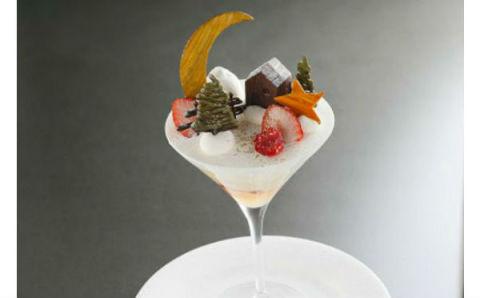 グラスの中に小さなクリスマス☆アンリ・シャルパンティエ期間限定スイーツがステキ