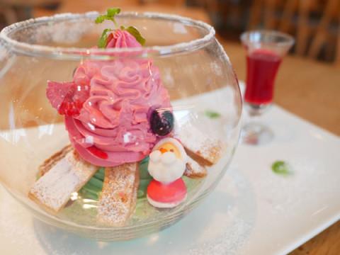 1日5食限定!スノードームモチーフのデザートが可愛い!!