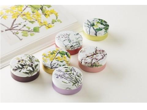 スチームクリームに近代日本洋画の巨匠が描く限定デザイン缶