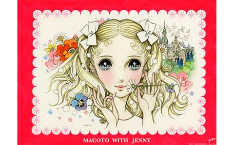 乙女の夢が詰まったイラストにキュン♡「ジェニーファックス×高橋真琴」コラボグッズがレトロ可愛い