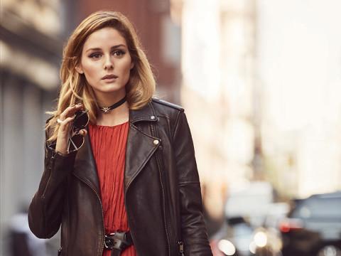オリヴィア・パレルモが選ぶブランドなら、きれいめもカジュアルも組み合わせ次第
