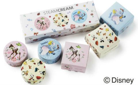 春のプチギフトはこれで決まり☆「スチームクリーム」にディズニーデザインのミニ缶が登場♪