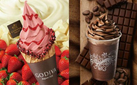 イチゴ&ダークチョコのリッチな味わい♡ゴディバ春の新作スイーツが見逃せない!
