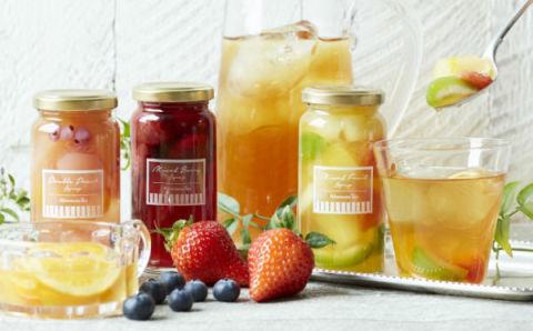 いつものアイスティーを贅沢に♡アフタヌーンティーの新提案「フルーツシロップ」が美味しそう