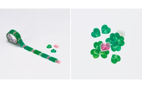 花びらがヒラリ♡1枚ずつはがしてアレンジする新感覚のマスキングテープが大人気!
