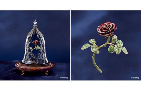 """『美女と野獣』の""""魔法のバラ""""がキラリ!総額700万円のジュエリーセットにうっとり♡"""