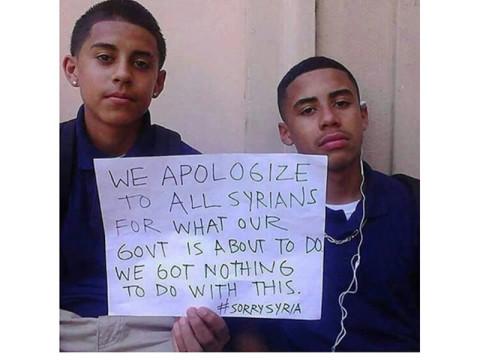 「シリアの人に謝りたい」ふたりの少年の想いがSNSで広がっている #Syria