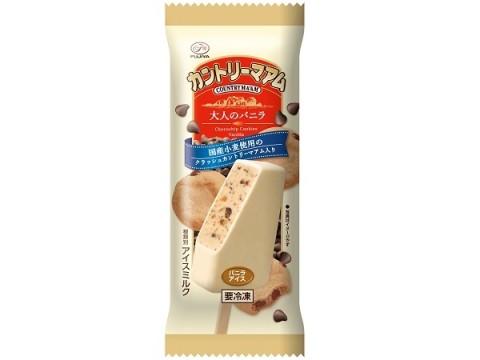異なる3つの食感!アイスになったカントリーマアムに新商品