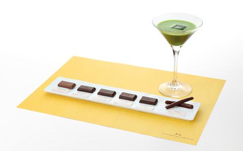 抹茶とショコラのマリアージュを堪能♡ラ・メゾン・デュ・ショコラの体験メニューにワクワク!