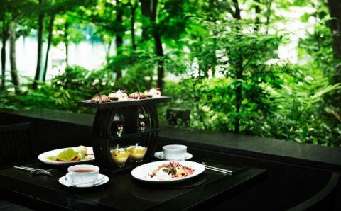 都会の森で楽しむ午後のひととき♪アマン東京の「アフタヌーンティー」で癒されたい♡
