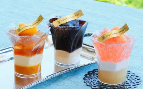 混ぜて食べるのがポイント♡「アンリ・シャルパンティエ」夏の定番スイーツが新食感になって登場!