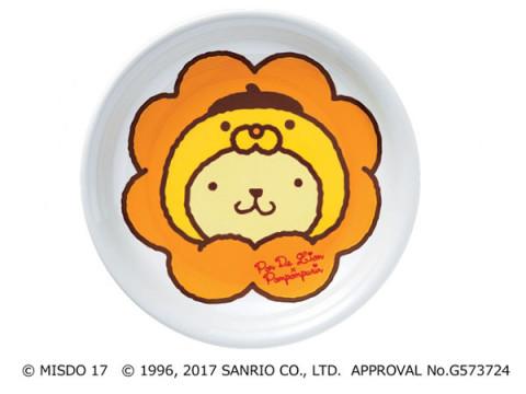 キュート!ポムポムプリンとポン・デ・ライオンのカレー皿