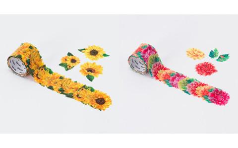貼るたびにテンション上がる♡カラフルなお花の新作マステがヴィレヴァンに登場!