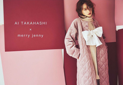 merry jenny×高橋愛のコラボアイテムが登場!ブランド5周年記念の夢のコラボに釘付けの予感♡
