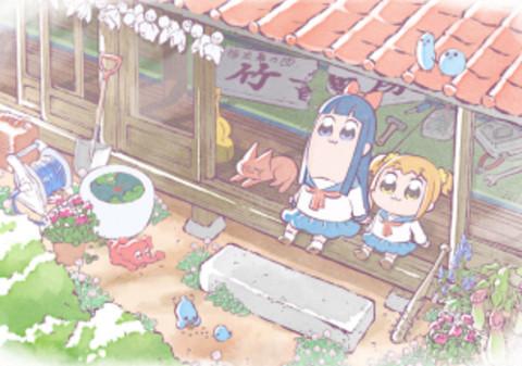 アニメ『ポプテピピック』アニメビジュアルが公開