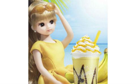 モデルにリカちゃんが就任!GODIVA夏の新作「ショコリキサー」はホワイトチョコ&バナナ☆