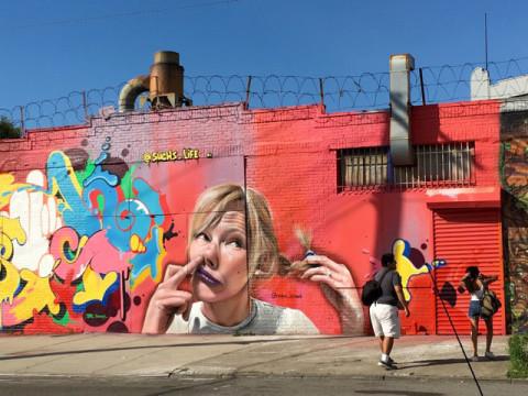 NYの壁がフォトジェニック。危険なギャングの街がクールになった
