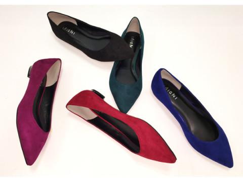 はきやすく、歩きやすいローヒール!「Color Flat Shoes Collection」