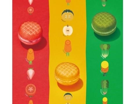 ミスタードーナツ、カラフル野菜ドーナツをタニタと共同開発
