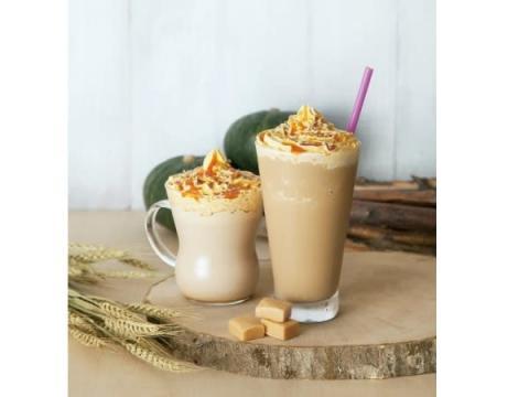 タリーズより、秋の味覚の代表格「パンプキン」のカフェラテ